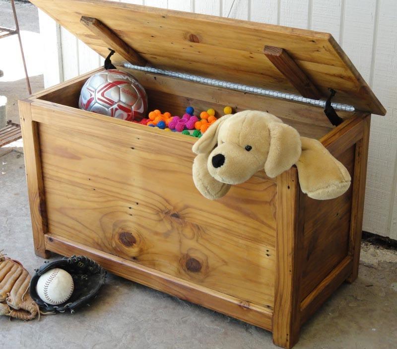 baul juguetes madera baratos