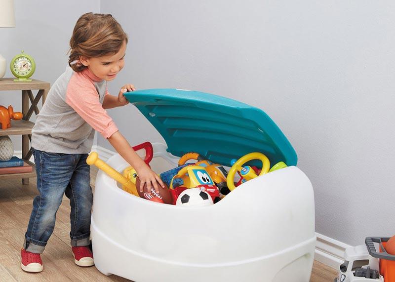 baul juguetes de plastico barato