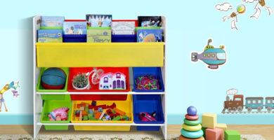 estantería sogmics para organizar juguetes