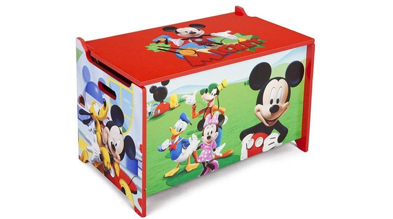 Baúl de juguetes mickey