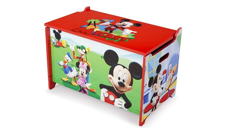 caja de juguetes mickey