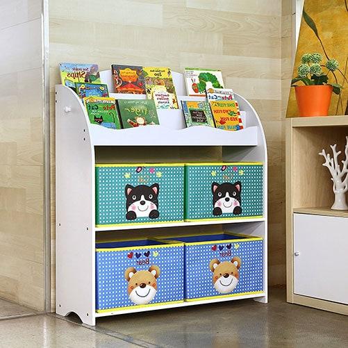 estanteria para guardar juguetes HOMFA