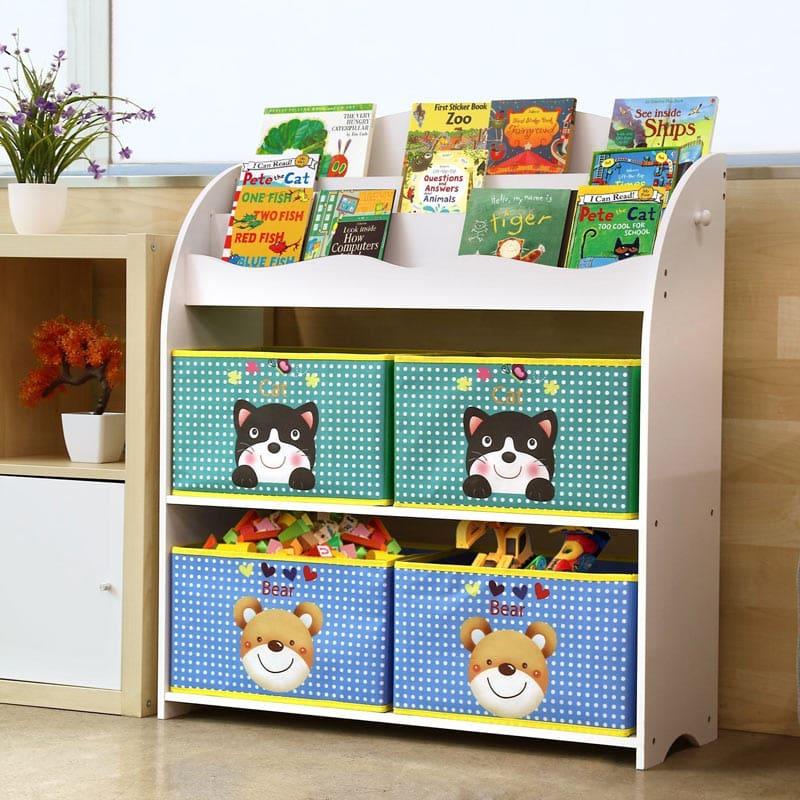 estanteria organizadora de juguetes HOMFA