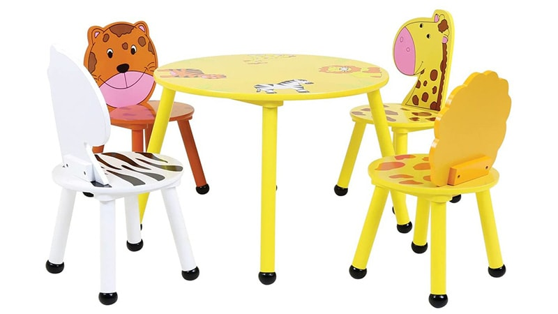mesa para niños de disney